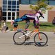Showing off some stunts in the parade with Rad Canyon BMX of South Jordan. (Keyra Kristoffersen/City Journals)