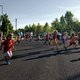 And they're off! Runners start their morning off with a 5K race. (Keyra Kristoffersen/City Journals)