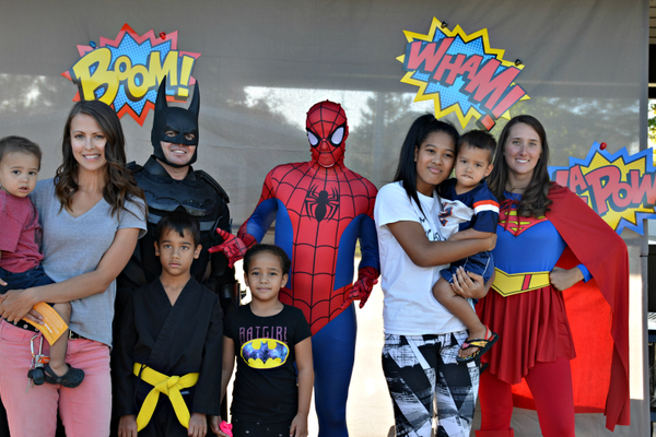 A group poses for a quick photo during last year's festivities for Park & Recreation Month (Emily Stephens/South Jordan City)