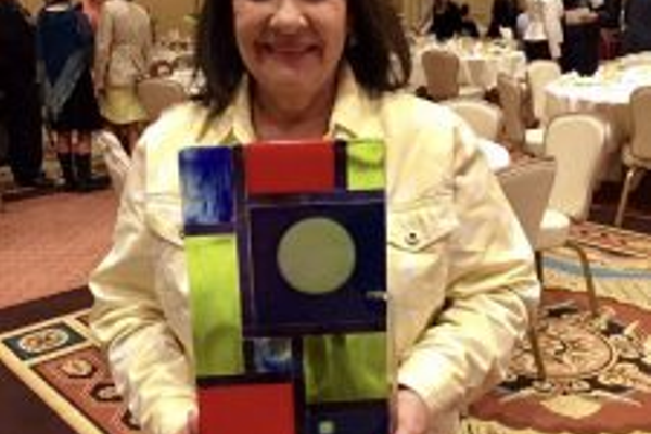 Kelleen Leslie received the Beverly Taylor Sorensen Legacy Award for integrating the arts in her classroom. (Kelleen Leslie/Blackridge Elementary)