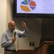 Alan Rae, Herriman's finance director, teaches the first of the city's Government 101 classes offered for free in-person at city hall or online through Facebook Live. (Tori La Rue/City Journals)