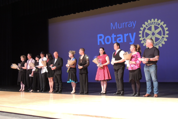 Murray celebrities and their dance instructors raise money for local charities. (Jerry Summerhays/resident)