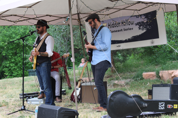 Crook & The Bluff perform on June 9 as part of the Hidden Hollow Concert Series. (Travis Barton/City Journals)