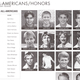 Photos of John and BYU's other All-American tennis players.(Debbie Bennett)