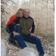 John and wife Debbie embrace for a photo in 2004 (Valerie Leavitt).