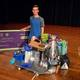 Charlie Scriver received gifts from local businesses for being an example to others. (Granite School District)