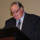 Taylorsville Mayor Larry Johnson touts sales tax growth and debt reduction during his speech. (Carl Fauver)