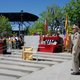 A choir sings the Vietnamese National Anthem as the crowd celebrates the tenth anniversary of the statue commemorating American and Vietnamese partnership to end the Vietnam Conflict. (Keyra Kristoffersen/City Journals)