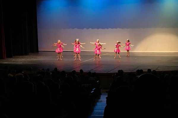 Dancers of all ages perform on stage in front of family and friends as part of the spring concert for Shellie's School of Dance. (Greg James/City Journals)