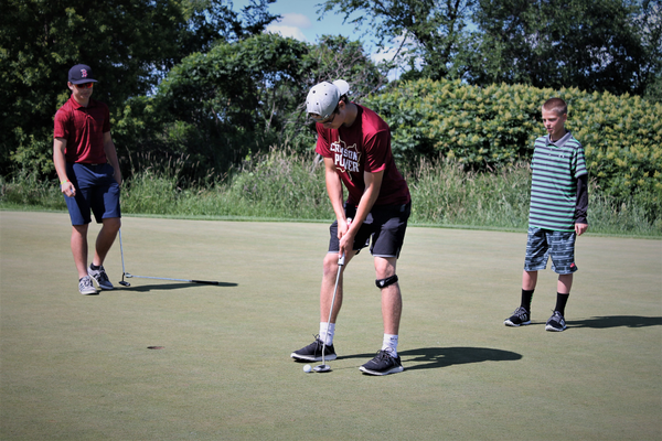 2017 Maple Grove Crimson Golf Tournament at Rush Creek - Photo By: Doug Erlien Maple Grove Voice