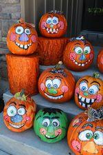 Medium eb341118ec3922b318436041bec46509  painting pumpkins pumpkin painting