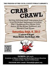 Medium crab 20crawl 20poster 202017 20poster