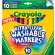 Crayola Ultra-Clean Washable Markers, $5.50 at HobbyTown USA, 2761 East Bidwell Street, Suite 400, Folsom. 916-414-9560, hobbytown.com