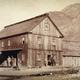 Historic photo of Knudsen flour mill. (Hughes General Contractors)