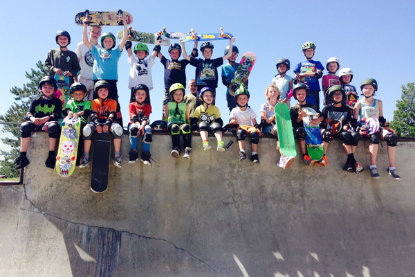 Spock's Skate Camps are run throughout the Salt Lake Valley. (Eric Uequillas/Holladay)