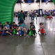 Young racers line up for real-life Mario Kart. (Keyra Kristoffersen/City Journals)