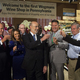 Governor Tom Wolf at the opening of the first Wegmans' Wine Shop.