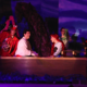 "Eric and Ariel enjoy a romantic evening during the production of ""The Little Mermaid."" (James Crane/Herriman Arts Council)"