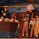 """Prince Eric captains the ship at the beginning of """"The Little Mermaid."""" (James Crane/Herriman Arts Council)"""