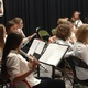 The school orchestra performs for Fine Arts Night. (Jet Burnham/City Journals)