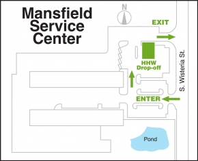 Service center hhw map