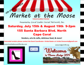 Market at The Moose - start Aug 19 2017 0900AM