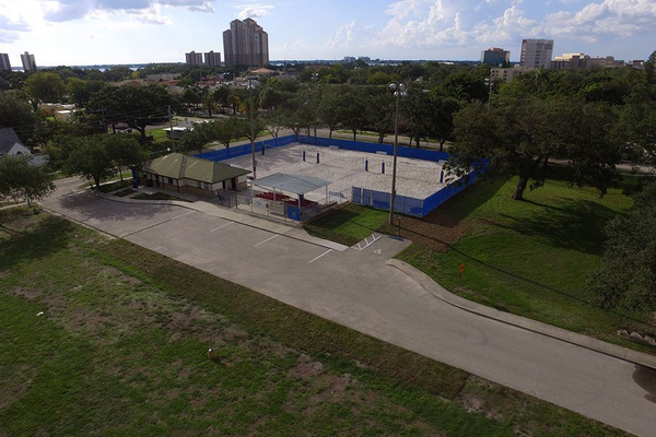 Midtown Beach Sports Complex. Photo courtesy of the city of Fort Myers.