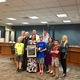 Kami Greenhagen-Jones, her family and Herriman City officials after Greenhagen-Jones was recognized for her work as the chair of the Healthy Herriman and Trails Committee. (Lexi Peery/City Journals)