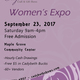 Womens Expo - Maple Grove - 4th Annual - start Sep 23 2017 0900AM