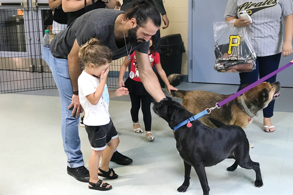 Pirates' Players Visit Animal Friends