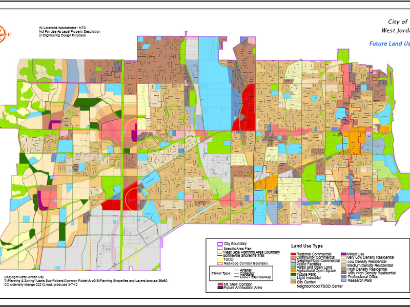 Sticking To The Plan A New Review Process For Future Land Use Map - Us-land-use-map