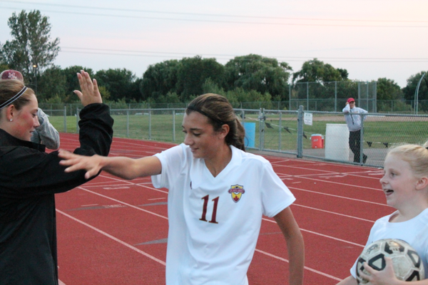 Maple Grove defeated Spring Lake Park 3-0. Photo by Maple Grove Voice