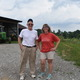 The Matthews Family has owned Milky Way Farm in Chester Springs for more than 100 years and its always been a dairy farm But they knew diversification is what would keep them successful Pictured are Sam Matthews and daughter Carolyn Matthews Eaglehouse Mathews just came in from the field and Eaglehouse oversees the creamery  Photo by Natalie Smith