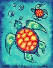 Medium sea 20turtles