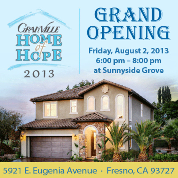 Granville Home Of Hope Grand Opening