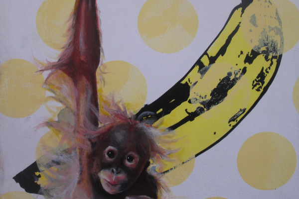 'Banana' by Mia and Jeff Schaller.