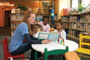 More Room to Play Sit  Read at Norman Williams Public Librarys Renovated Childrens Room - Sep 19 2017 0450PM