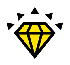 Medium east coast granite tile diamond 20 1