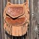 Lowenherz Vagabond Bag, $140 at Lowenherz Leather, handcrafted locally in Lincoln, lowenherzleather.com