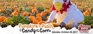 Pumpkins in the Patch  Candy in the Corn - start Oct 28 2017 1000AM
