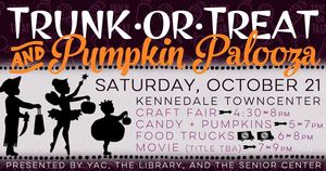Trunk-or-Treat  Pumpkin Palooza - start Oct 21 2017 0500PM