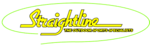 Medium straightline retro logo