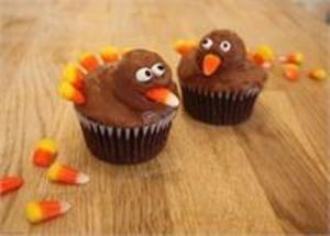 Medium turkey 20cupcake