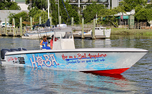 Medium boat taxi
