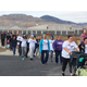 Community members and students gather for Hope Walk. (Photo Courtesy Herriman City)