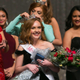 Former Miss Herriman McKenzie Jensen crowns the new Miss Herriman Abigail Chapman during this year's Miss Herriman Pageant (Photo Courtesy Miss Herriman Scholarship Pageant)