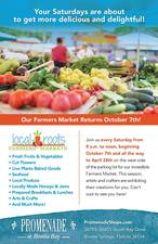 Bonita Springs Farmers Market - start Nov 25 2017 0800AM