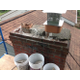 Before – a deteriorated chimney top
