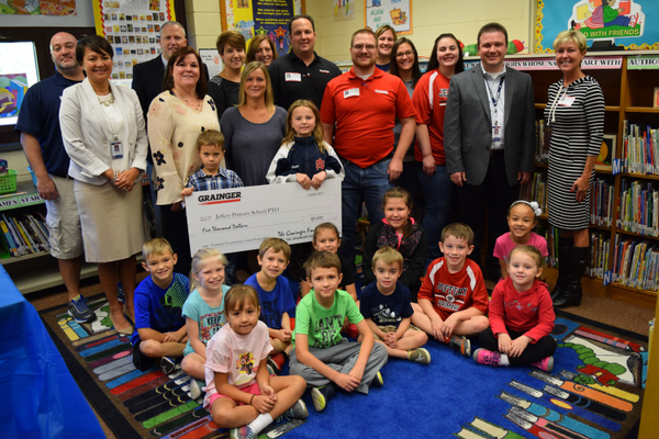 Jeffery Primary School Receives $5,000 Grant