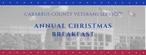 Annual Veterans Christmas Breakfast - start Dec 13 2017 0900AM